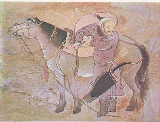 Christian-Knights-and-Mongol-Horsemen-A.