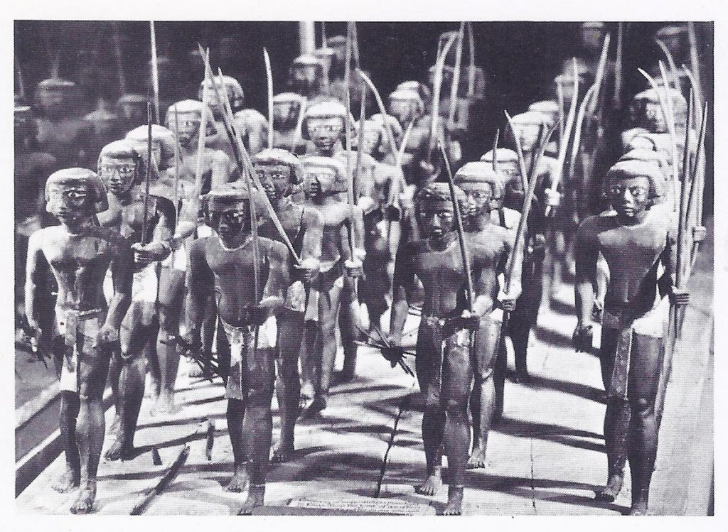 Egyptian soldiers marching