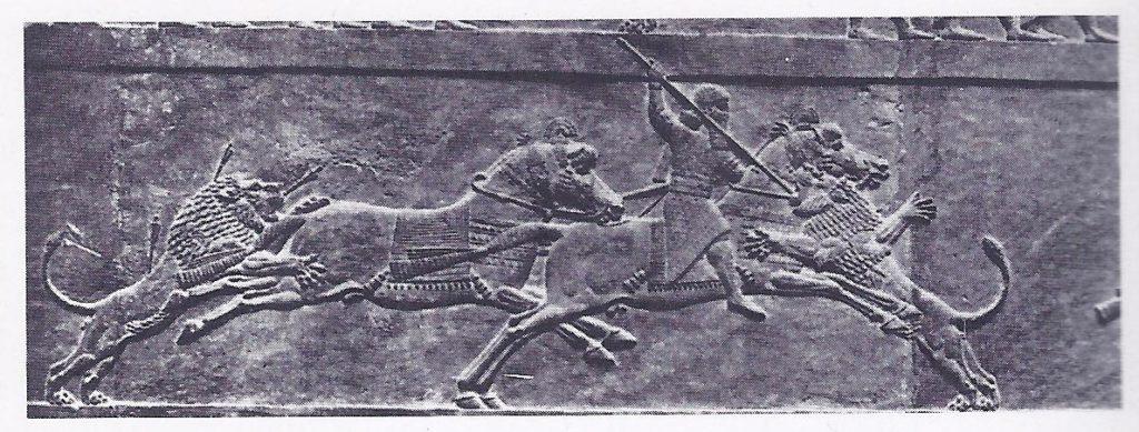 Ashurbanipal hunting